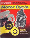 MOTORCYCLE - MOTORCYCLE MAGAZINE - 8TH NOVEMBER 1962 - M1004